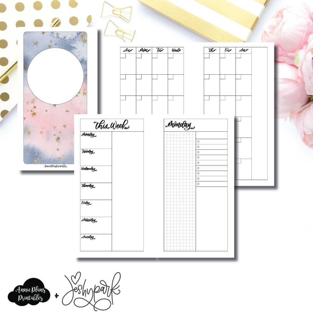 Personal Rings Size | JeshyPark Undated Daily Collaboration Printable Insert ©