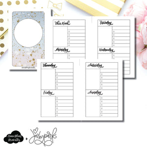 Pocket Rings Size | JeshyPark Undated Weekly Collaboration Printable Insert ©