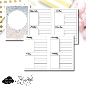 A6 TN Size | JeshyPark Undated Weekly Collaboration Printable Insert ©