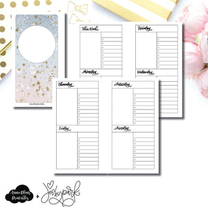 Personal Rings Size | JeshyPark Undated Weekly Collaboration Printable Insert ©