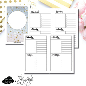 Pocket TN Size | JeshyPark Undated Weekly Collaboration Printable Insert ©