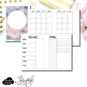 Personal Wide Rings Size | JeshyPark Undated Daily Collaboration Printable Insert ©
