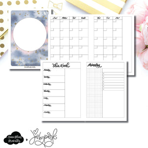 A6 TN Size | JeshyPark Undated Daily Collaboration Printable Insert ©