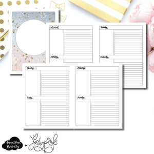 Classic HP Size | JeshyPark Undated Weekly Collaboration Printable Insert ©