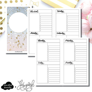 Personal TN Size | JeshyPark Undated Weekly Collaboration Printable Insert ©