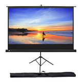 "KODAK Projection Screen 80"" with Tripod Stand & Carrying Bag"