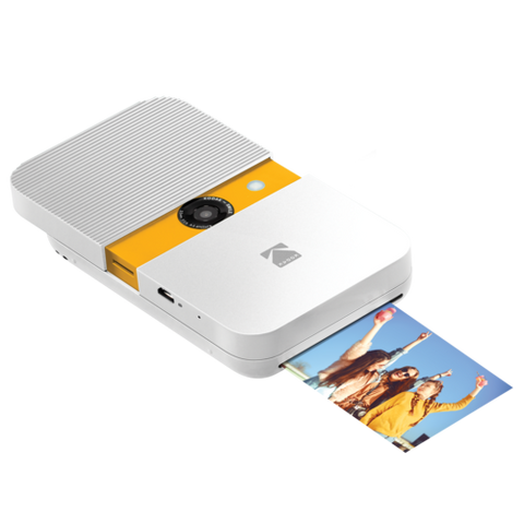 KODAK SMILE Instant Print Digital Camera - White