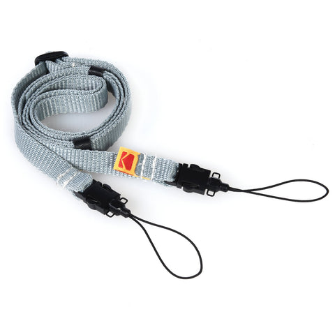 KODAK PRINTOMATIC Camera Neck Strap - Grey