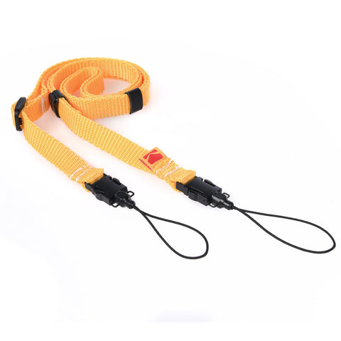 KODAK PRINTOMATIC Camera Neck Strap - Yellow