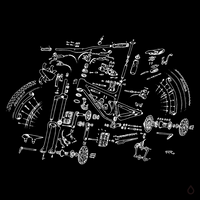 Bike Parts (Inverted)