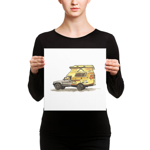 Toyota Chinook (Canvas Print)
