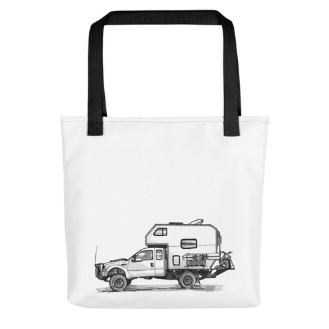 Bruce the Camper (Tote bag)