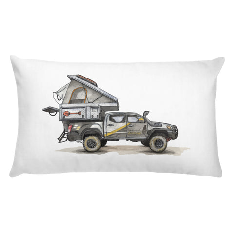 Mountain State Overland, Toyota Tacoma (Pillow)