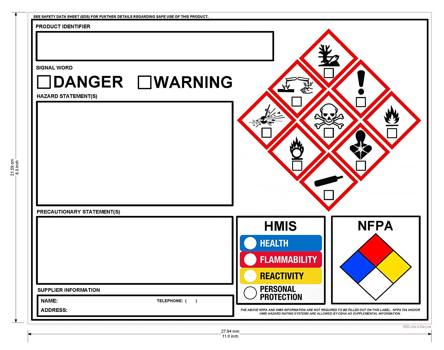 Shop for nfpa diamond numbers symbols at my1910safety biocorpaavc Choice Image