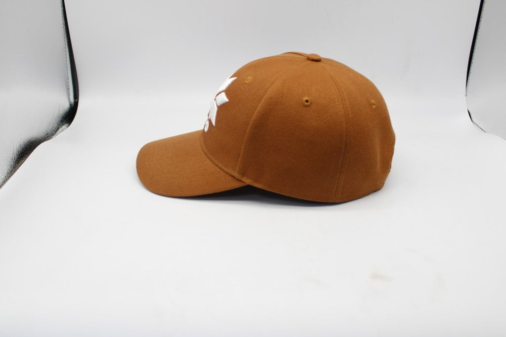 Brown - High A-Frame Snapback Cap
