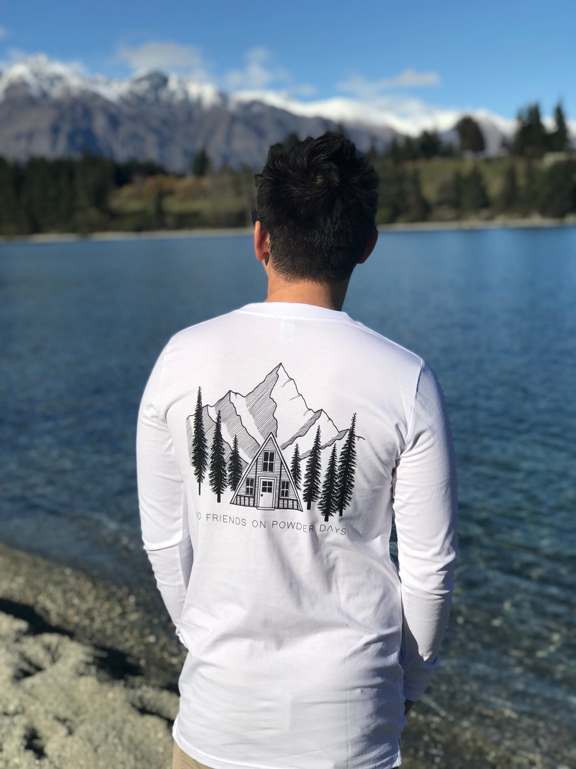 White Pines Organic Cotton Long Sleeve-T - Unisex