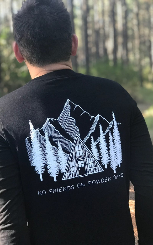 Black Pines Organic Cotton Long Sleeve-T - Unisex - PRE-ORDER