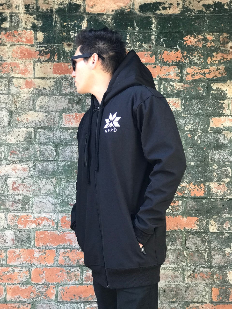 10K WATERPROOF Tall Black Softshell Hoodie - Unisex