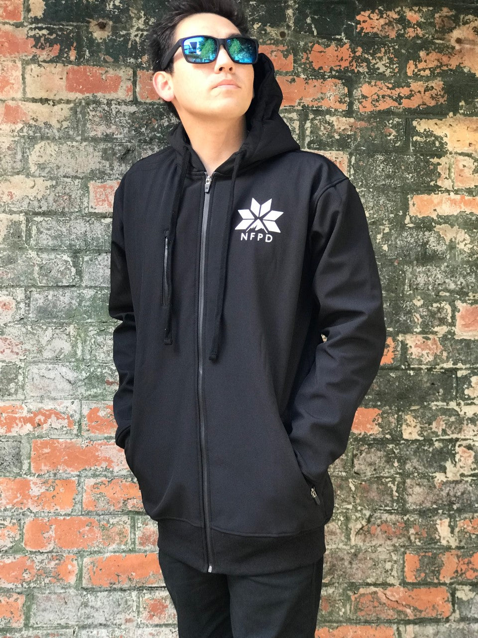 10K WATERPROOF Tall Black Softshell Jacket - Unisex