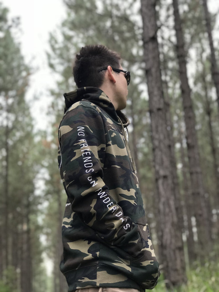 Camo Snug Hoodie - Unisex (PRE-ORDER SIZES S/M/L ONLY)