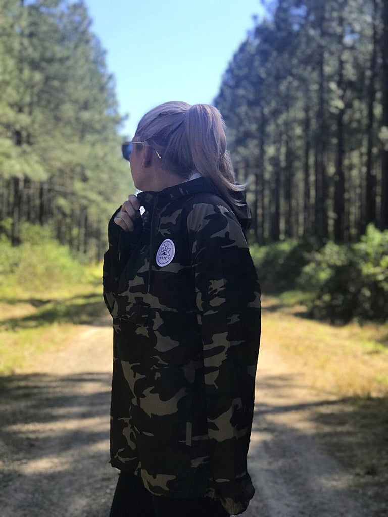 Camo Waterproof Windbreaker Jacket - Unisex