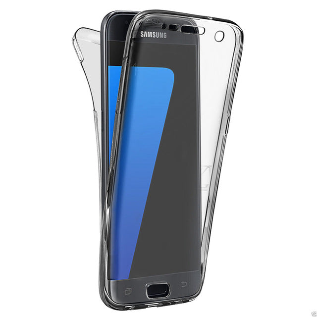 separation shoes a72d6 f1fe9 Ultra Thin Soft TPU Clear Cover Case For Samsung Galaxy S4 S5 S6 S7 Edge A3  A5 A7 J5 J7 S8 Plus