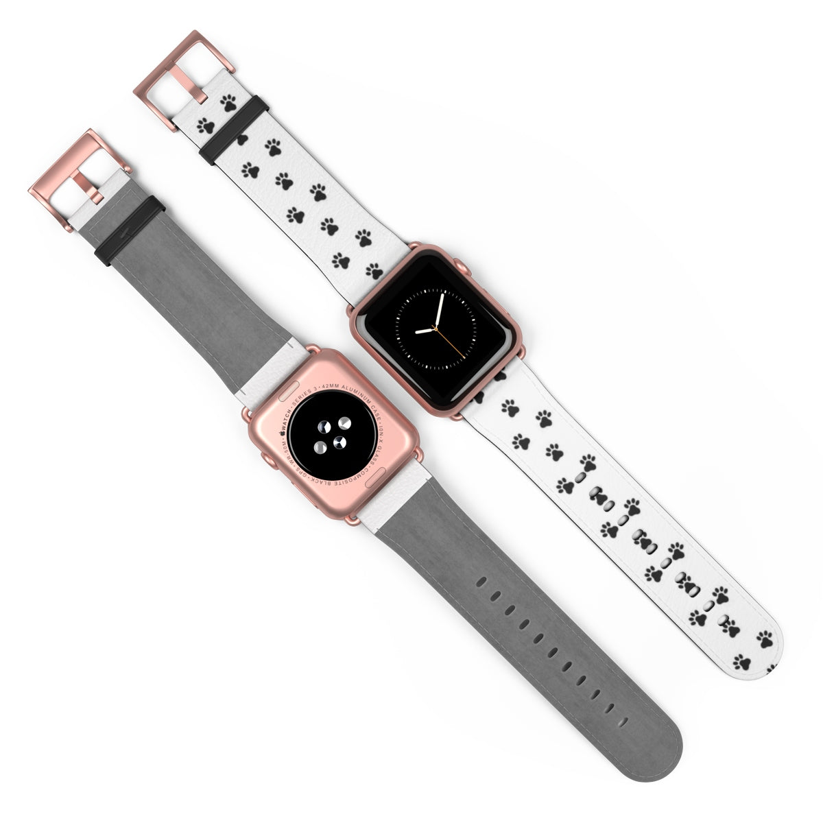 Apple Watch Band White Paws