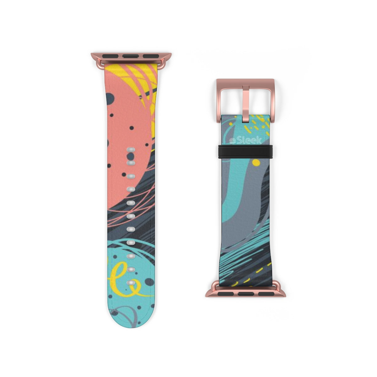 Apple Watch Band Ocean Abstract