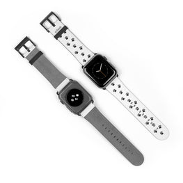 Paws Watch Band White