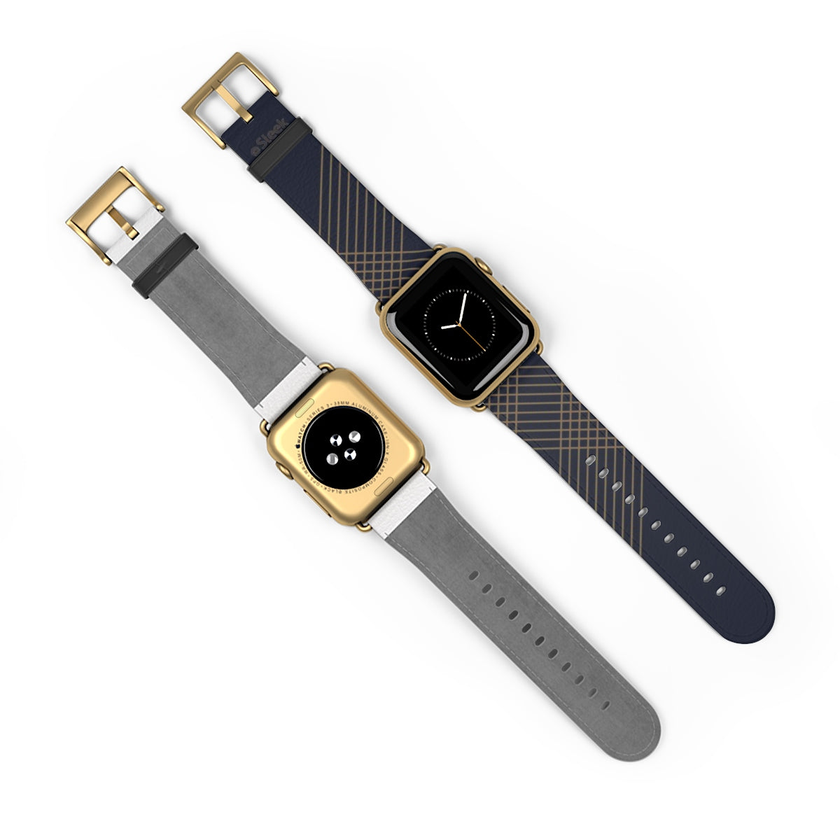 Apple Watch Band Gold Stripes