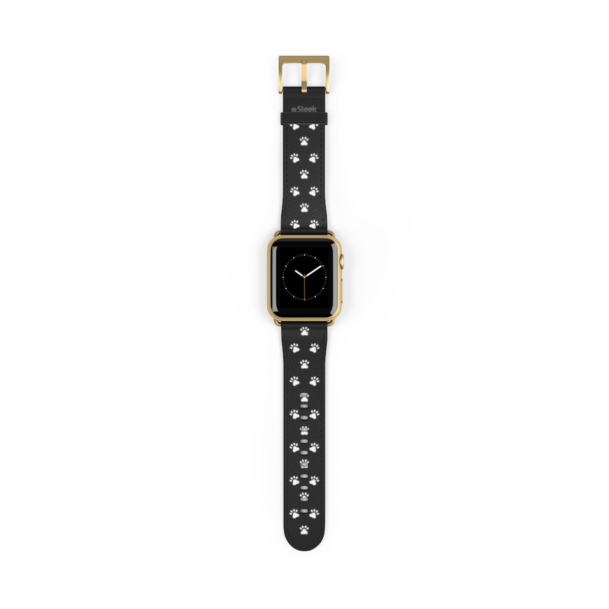 Apple Watch Band Black Paws