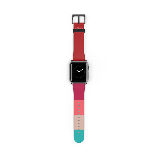 Apple Watch Band Red Stripes