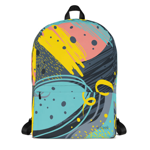 Backpack Ocean Abstract
