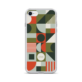 iPhone Case Geometric Green