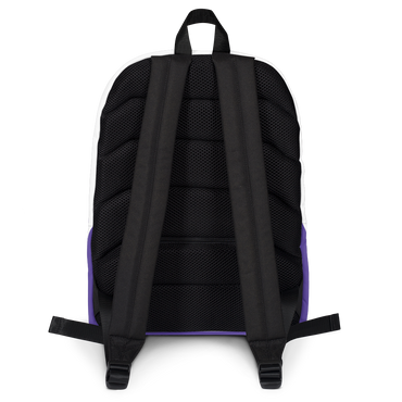 Backpack for Enamel Pin Collection / Purple