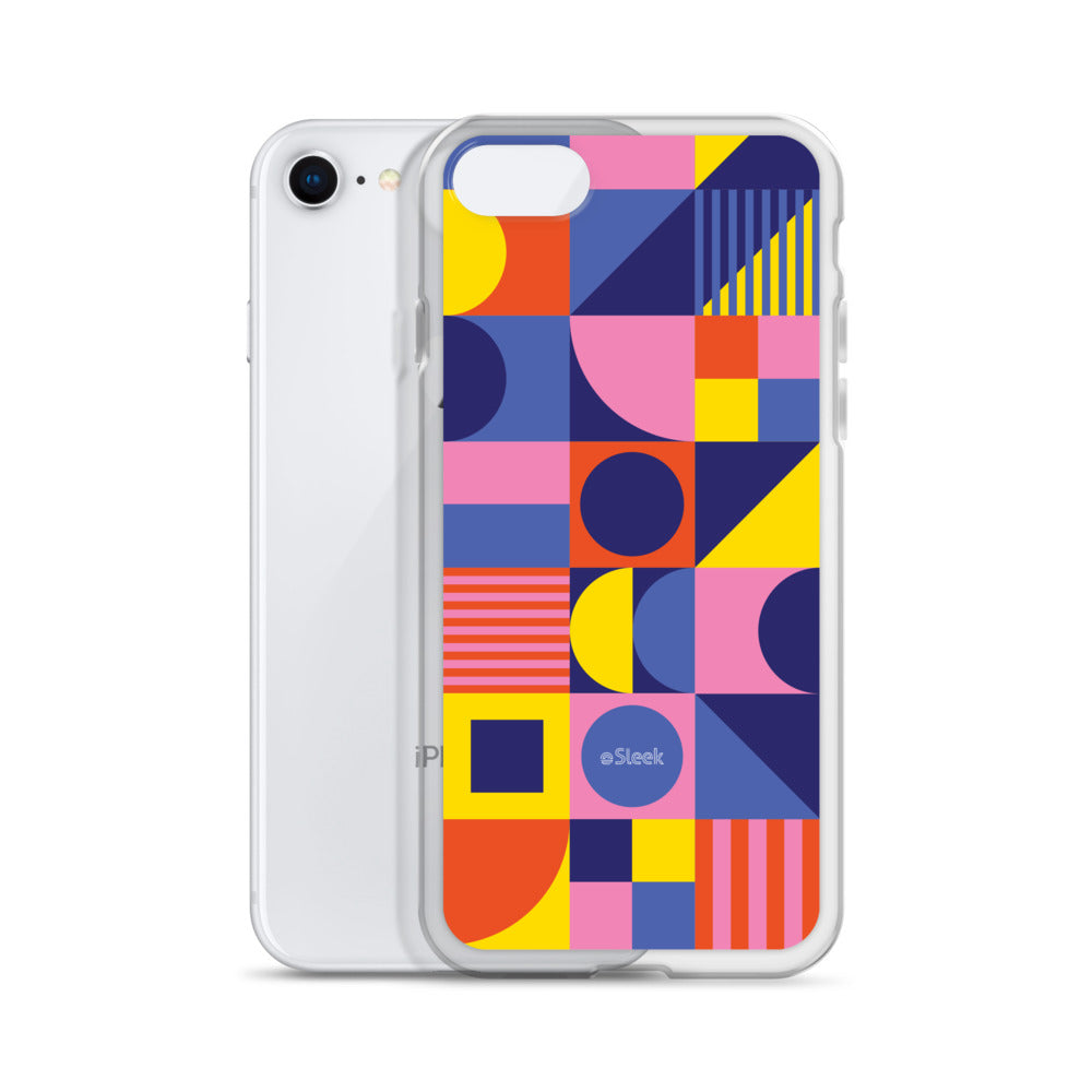iPhone Case Geometric Pink