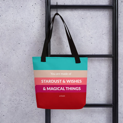 Tote Bag Stardust, & Wishes, & Magical Things
