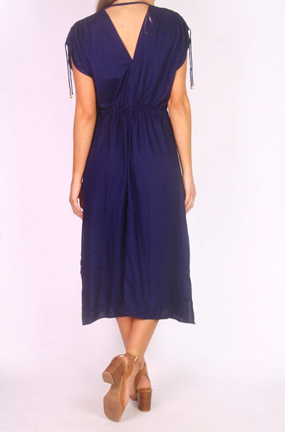 NEW Jantzen Navy Summer Midi Dress