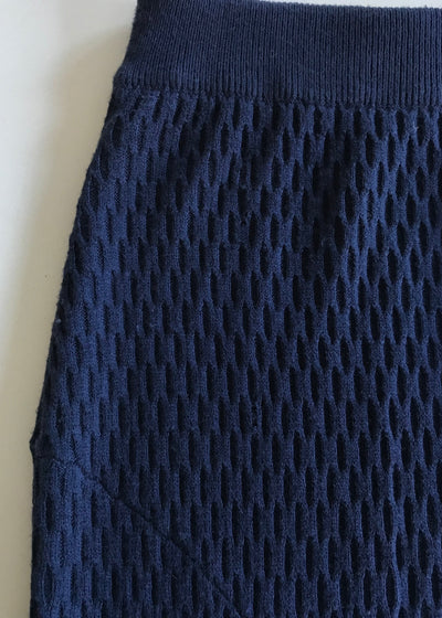 Staple The Label Textured Knit Skirt with Spits