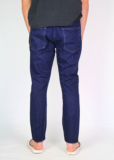 Bassike Men's Universal 2 Indigo Washed Jean