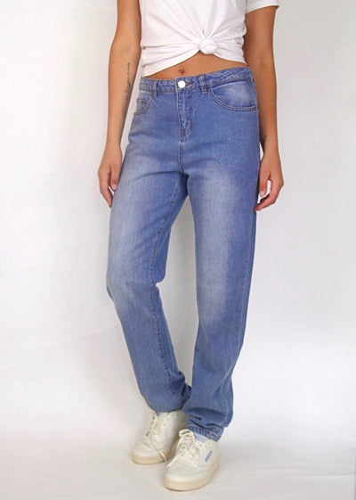 Noisy May 100% Cotton Boyfriend Jean