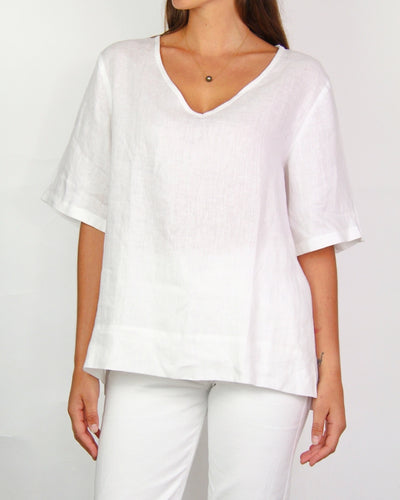 Assembly Label White Short-Sleeve Blouse