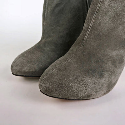 Giuseppe Zanotti Suede High Heel Ankle Boots
