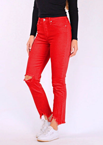 Nobody Denim True Ankle High-Rise Relaxed Skinny Jeans