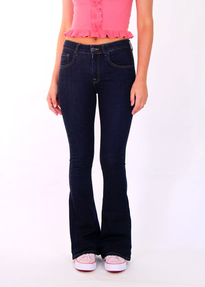 Victoria Beckham High-Rise Flared Jeans