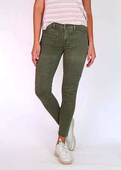 J Brand Utilitarian Ginger Skinny Jean in Jungle