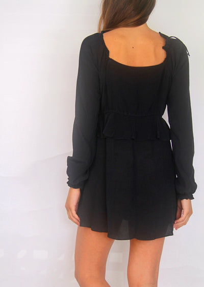 Stone Cold Fox Black Mini Dress