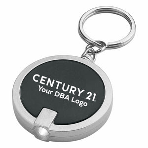 DBA Round LED Keyring - Century 21 Promo Shop USA