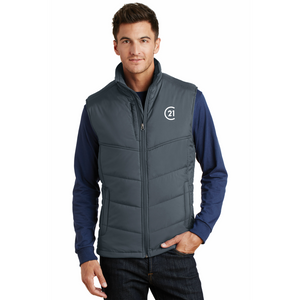 DBA Embroidery - Mens Puffy Vest