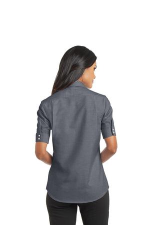 DBA Ladies Short Sleeve SuperPro - Oxford Shirt - Century 21 Promo Shop USA